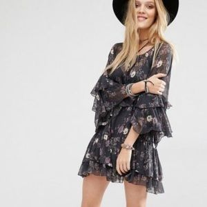 Free People | Sunsetter Chiffon Dress (no slip)